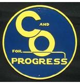 CUSTOM 26222 - C&O For PROGRESS - Builder Plate - COLOR VARIATIONS