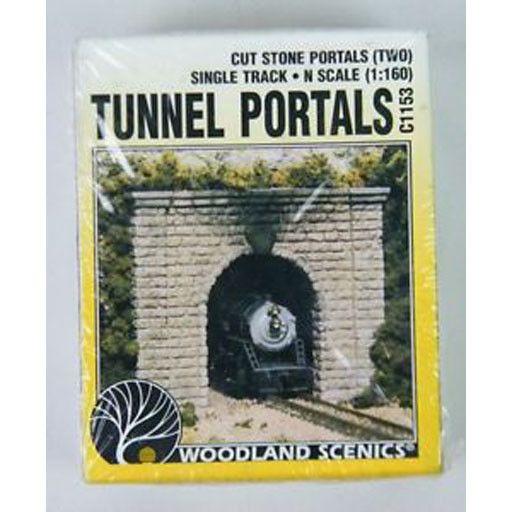 Woodland Scenics 1153 - TUNNEL PORTALS N SCALE