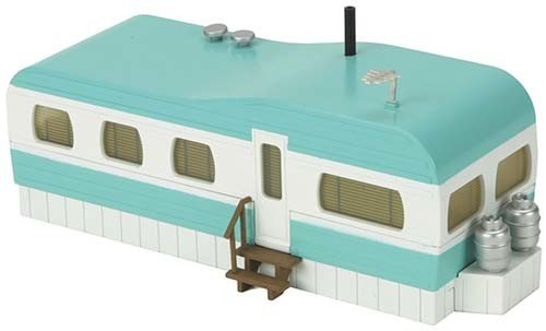 3090108	 - 	TURQUOISE&WH MOBILE HOME