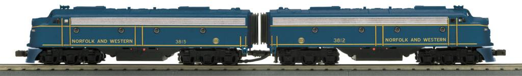 MTH - RailKing Norfolk & Western E8 AA Set 30-20394-1