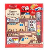 Melissa & Doug Rescue Vehicles Created by Me!