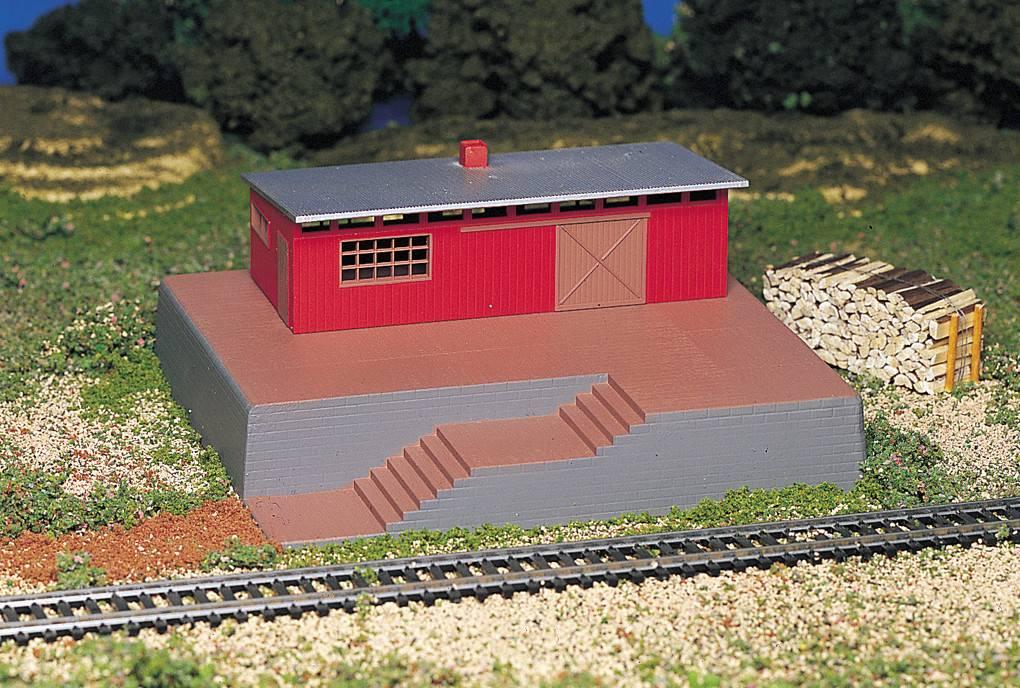BACHMANN 46209 Bachmann HO Building with whistle