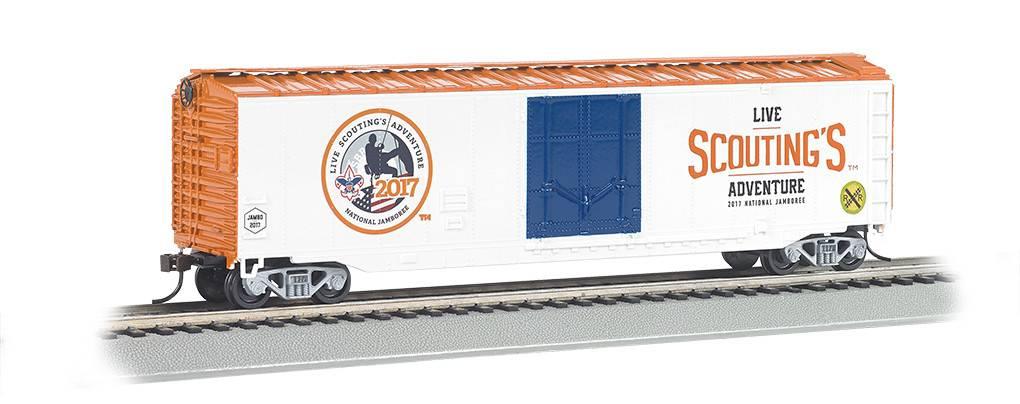 BACHMANN 18004 Bachmann HO BSA Jamboree Plug Door Boxcar