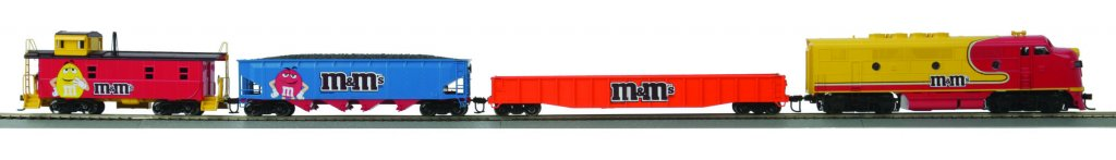 MTH - HO 8140041	 - 	RTR F-3 M & Ms FREIGHT HO 3.0