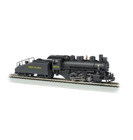 BACHMANN HO New Haven 0-6-0 Steam Loco #2333 with smoke and DCC