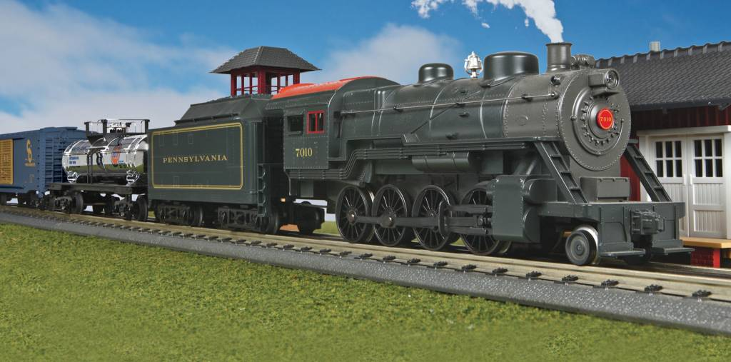 MTH - RailKing 30-4424-1 2-8-0 Pennsylvania Steam Freight Set