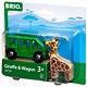 BRIO Giraffe and Wagon
