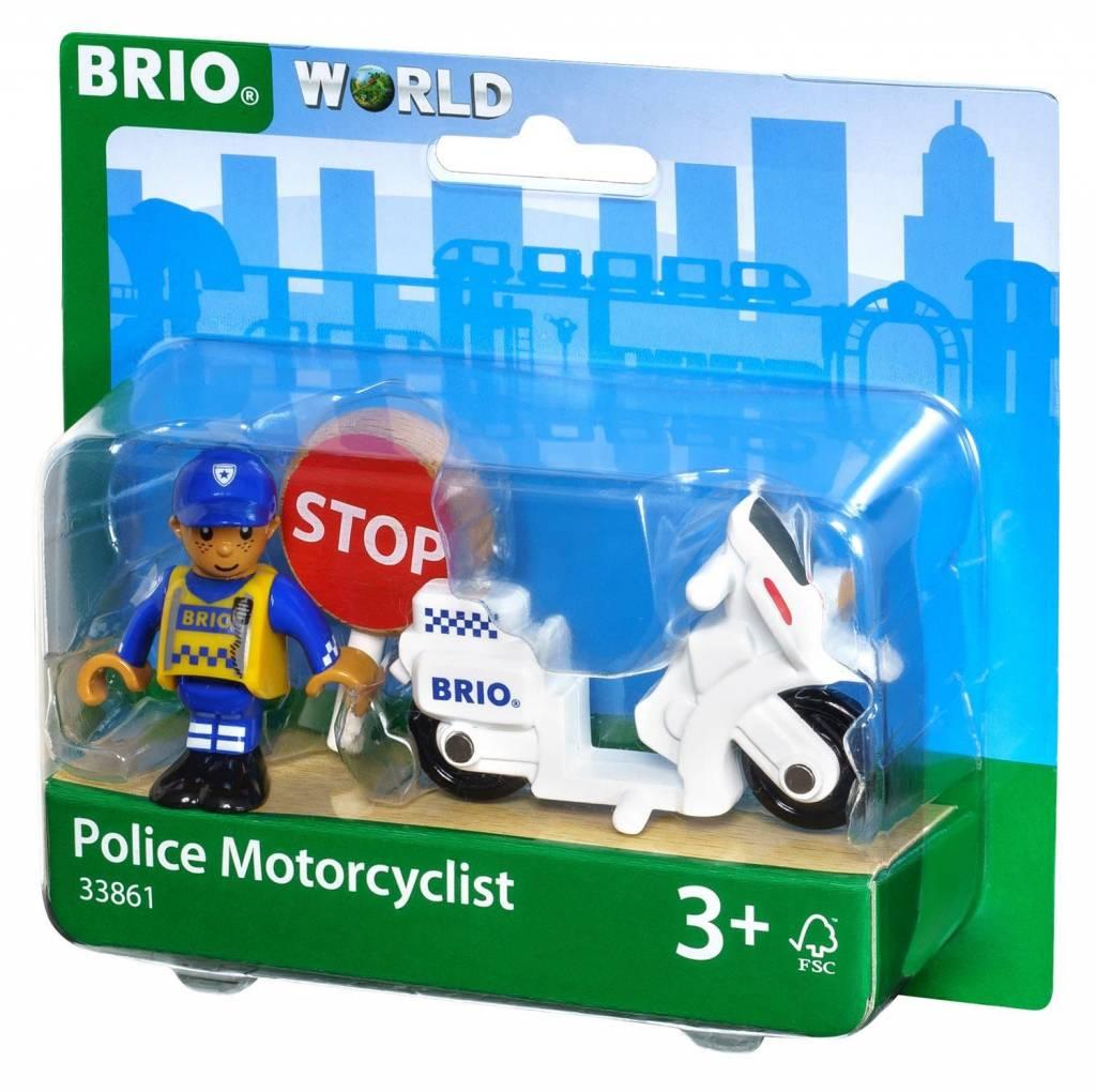 BRIO BRIO - Police Motorcyclist