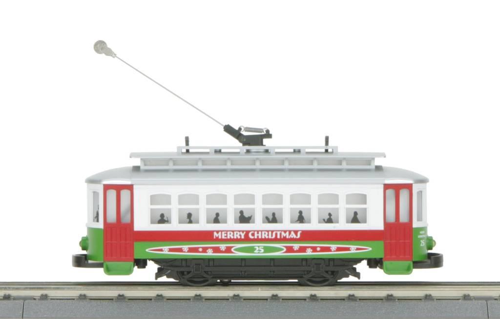 MTH 30-5146 Christmas Bump-n-Go Trolley
