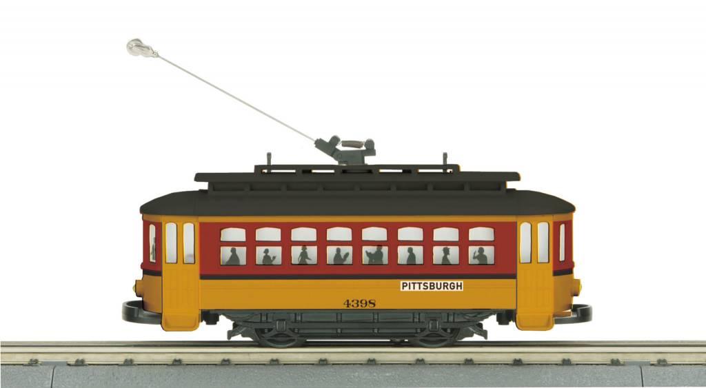 MTH - RailKing 30-5142 - Pittsburgh Bump-n-Go Trolley