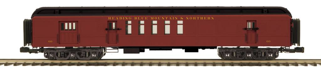 MTH - Premier 20-42045 70' Madison RPO Passenger Car, Reading & Northern