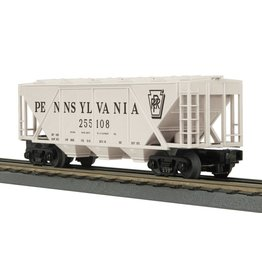 MTH - RailKing 30-75589  3 Bay Covered Hopper Car PRR