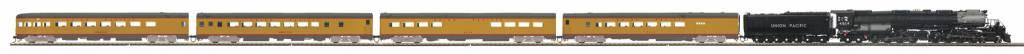 MTH - HO 803258-1 HO 4-8-8-4 Big Boy Specialty Passenger set w/Proto Sound 3