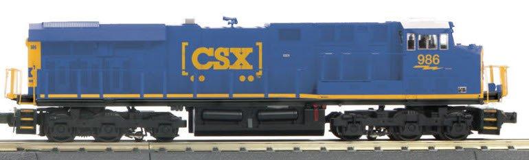 MTH - RailKing CSX ES44AC Imperial Diesel Engine 30-4233-1E (Engine Only)