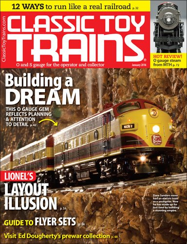 Classic Toy Trains January 2016