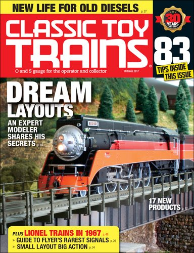 Kalmach Publishing Classic Toy Trains - October 2017