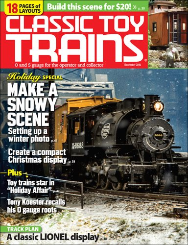 Kalmach Publishing Classic Toy Trains December 2016
