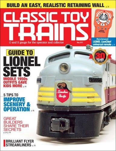 Kalmach Publishing Classic Toy Trains May 2017