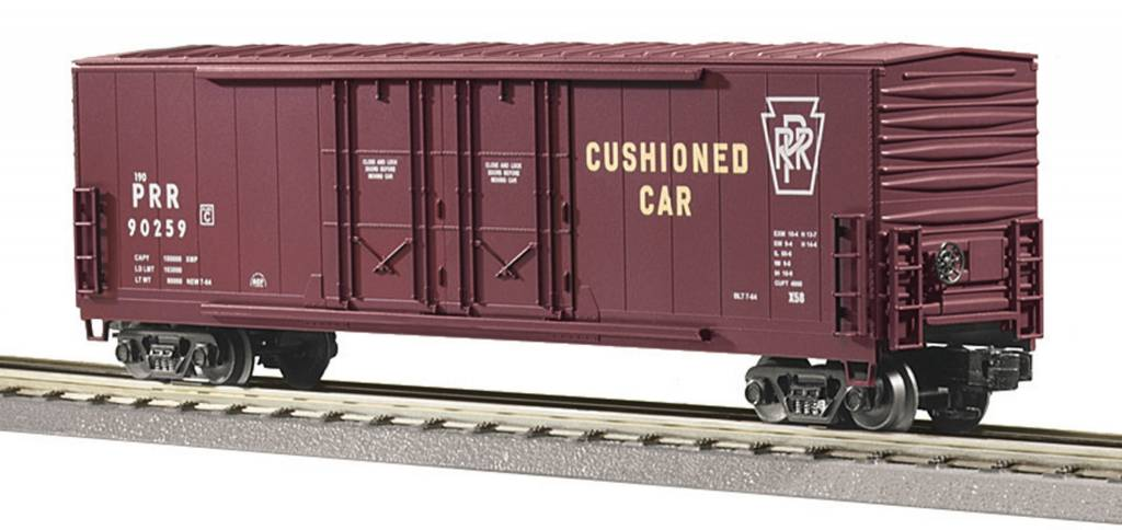 MTH - RailKing Pennsylvania 50' Double Door Plugged Boxcar 30-7452
