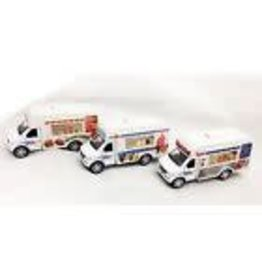 Choo Choo's Food Refreshment Truck 1:43 Scale Diecast Model - BURGERS
