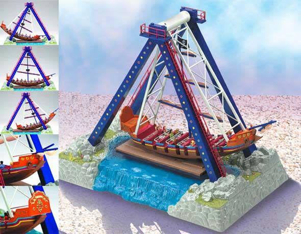 Lionel Lionel 6-14171 Operating Pirate Ship Ride