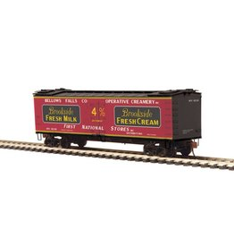 MTH - HO #80-94055, HO Brookside Fresh Milk (#1836) R40-2 Woodside Reefer