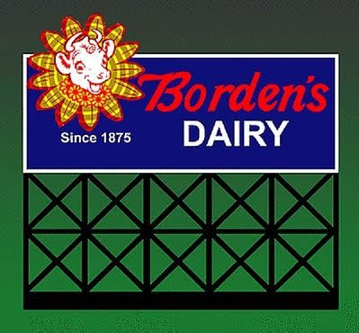 Miller Engineering #1051, Bordens Billboard