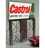 Miller Engineering #4381. Castrol Motor Oil Bill Board