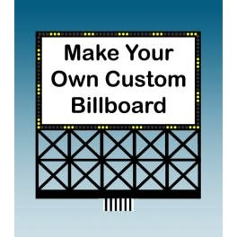 Miller Engineering #88-2351, Large Custom Billboard
