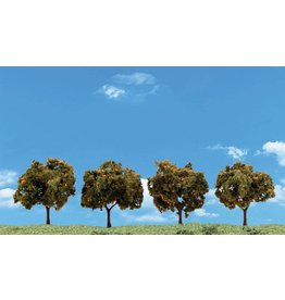 "Woodland Scenics TR3592 Orange Trees 2""-3"" (4)"