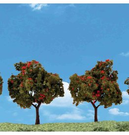 "Woodland Scenics TR3591 Apple Trees 2""-3"" (4)"