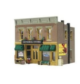 Woodland Scenics #WDS4925, N Scale Built-up Lubener's General Store