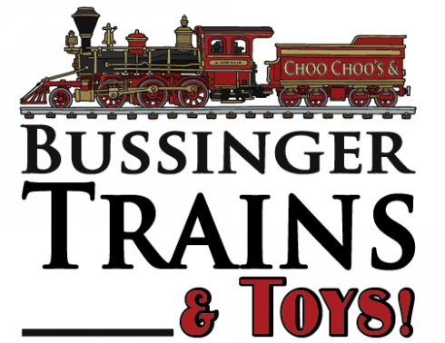 Bussinger Trains, Toys & Trains Store - Sales, Repairs, Service