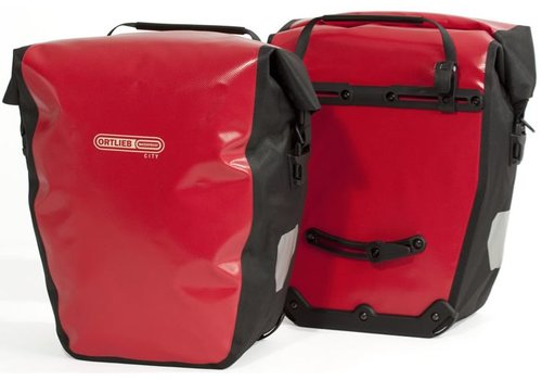 Ortlieb Back-Roller City Rear Pannier - Red