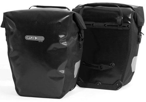 Ortlieb Back-Roller City Rear Pannier: Black