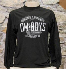Mens - Om Boys - L/S T-Shirts - Let That Shit Go