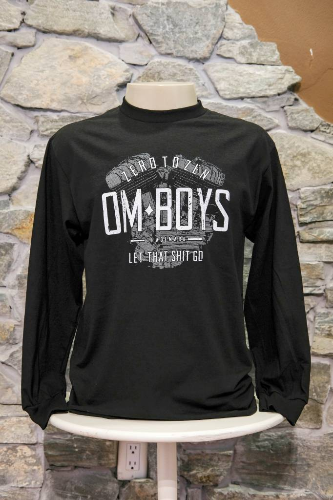 Mens - Om Boys - L/S T-Shirts - Let That Shit Go
