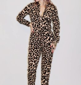 DA81- 36Point5- Leopard Print Jumpsuit