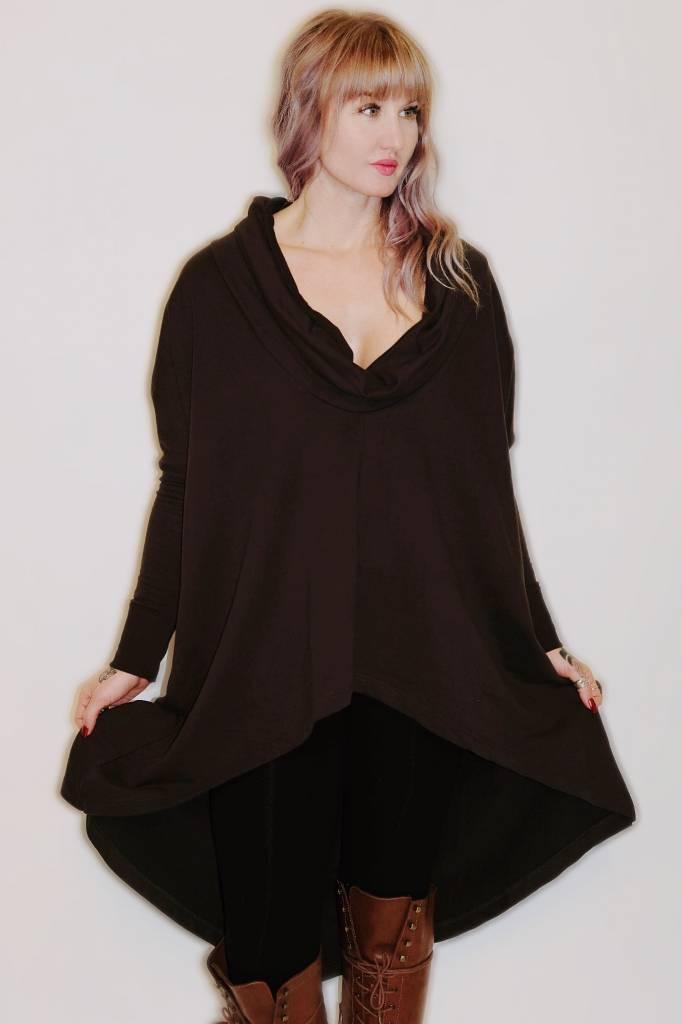DA42- Mono B - Cowl Neck OverSized Sweater