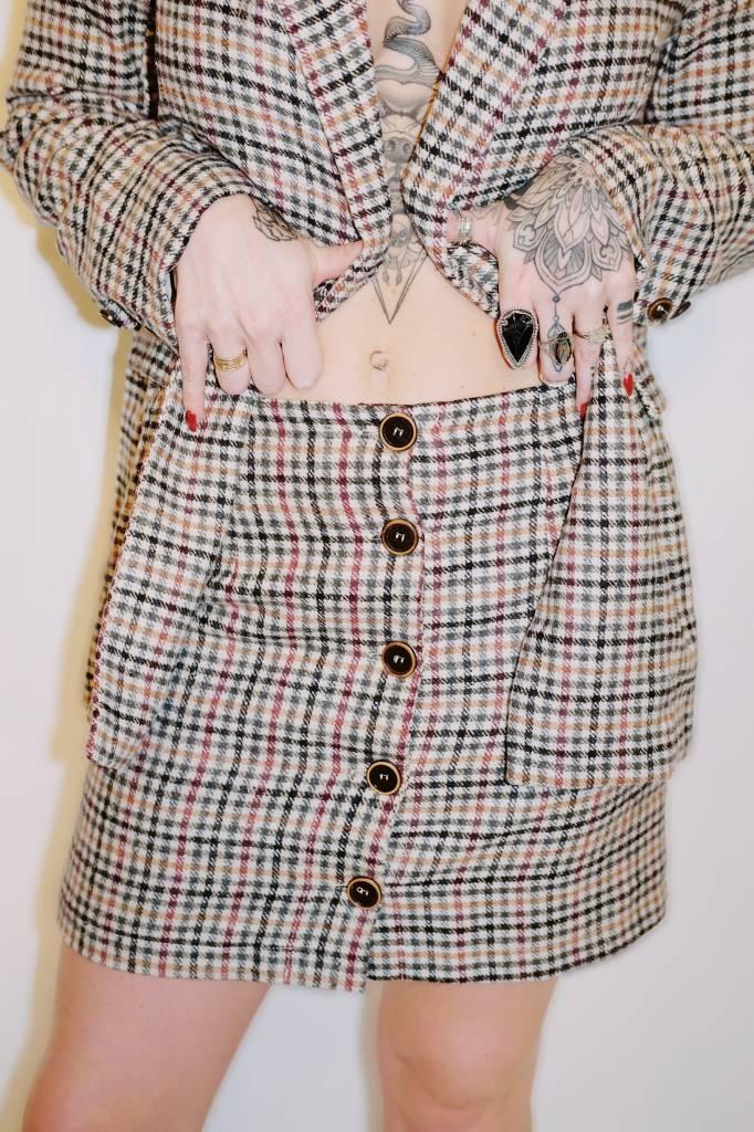 DA31 - Lunik - Plaid Skirt