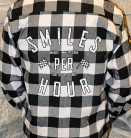 Mens - Om Boys - L/S Plaid Shirts - Smiles Per Hour