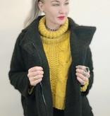 DB07 - Hers & Mine-Fuzzy Fur Zip Up Jacket