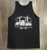 BW100-BLA-ZEN - Om Boys - Mens Black Jersey Tank Tops