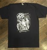 Mens - Om Boys - Navy S/S T-Shirts - Happy Buddha
