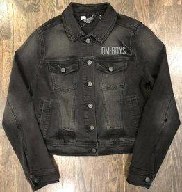 Womens - Om Boys - Denim Jacket - Let  That Shit Go Print
