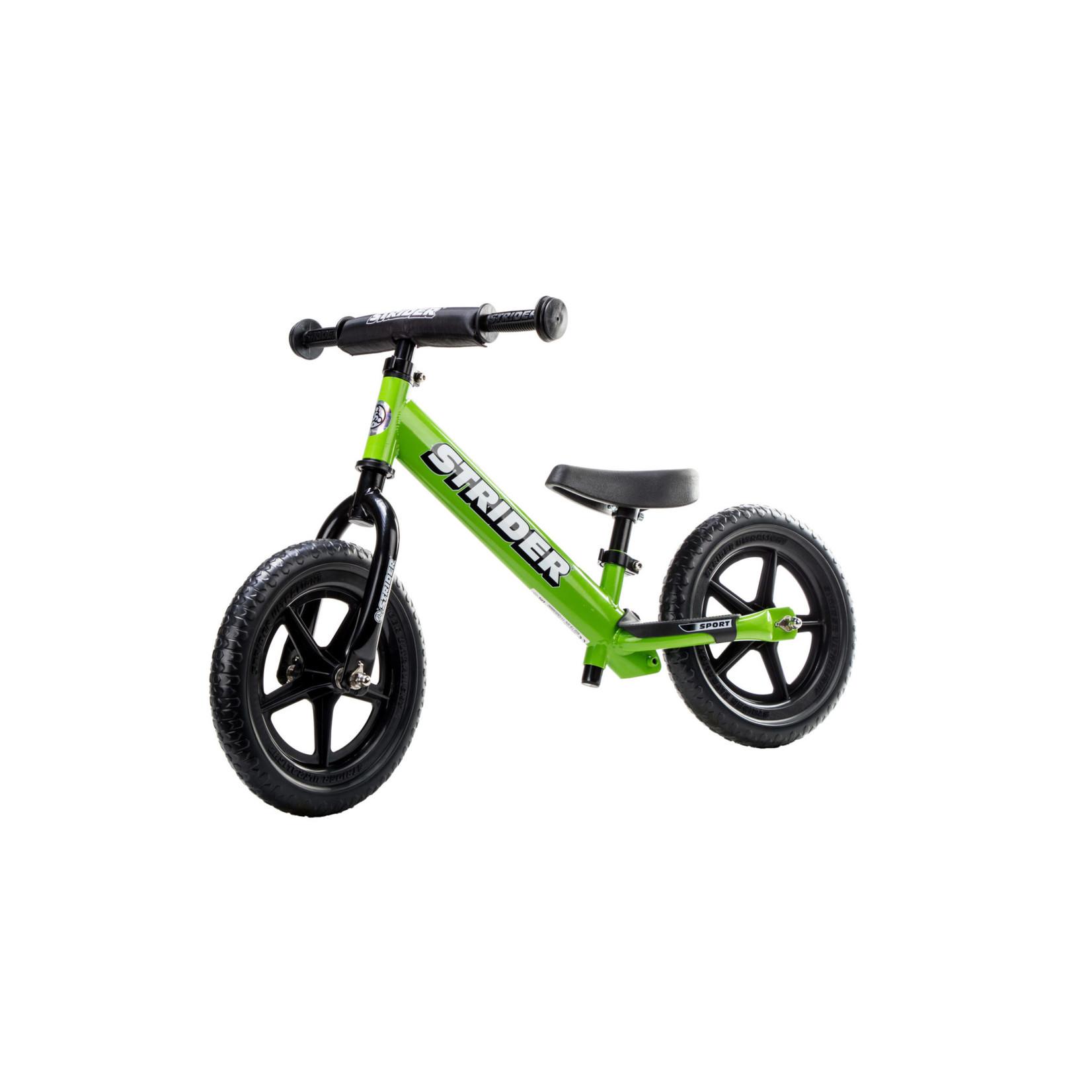 Strider Sport Balance Bike - Green