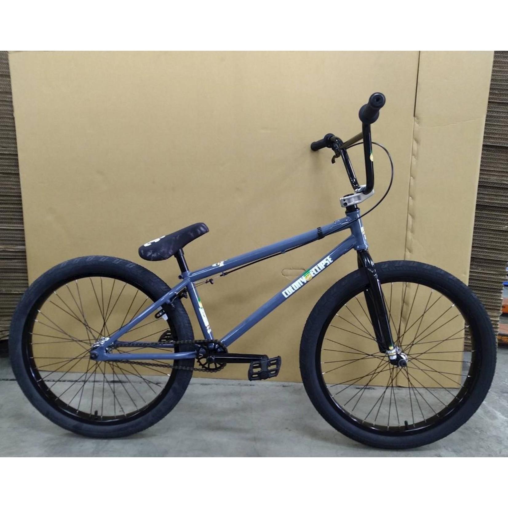 """Colony Colony Eclipse 24"""" BMX Bike (22"""" Toptube) (Dark Grey/Polished)"""