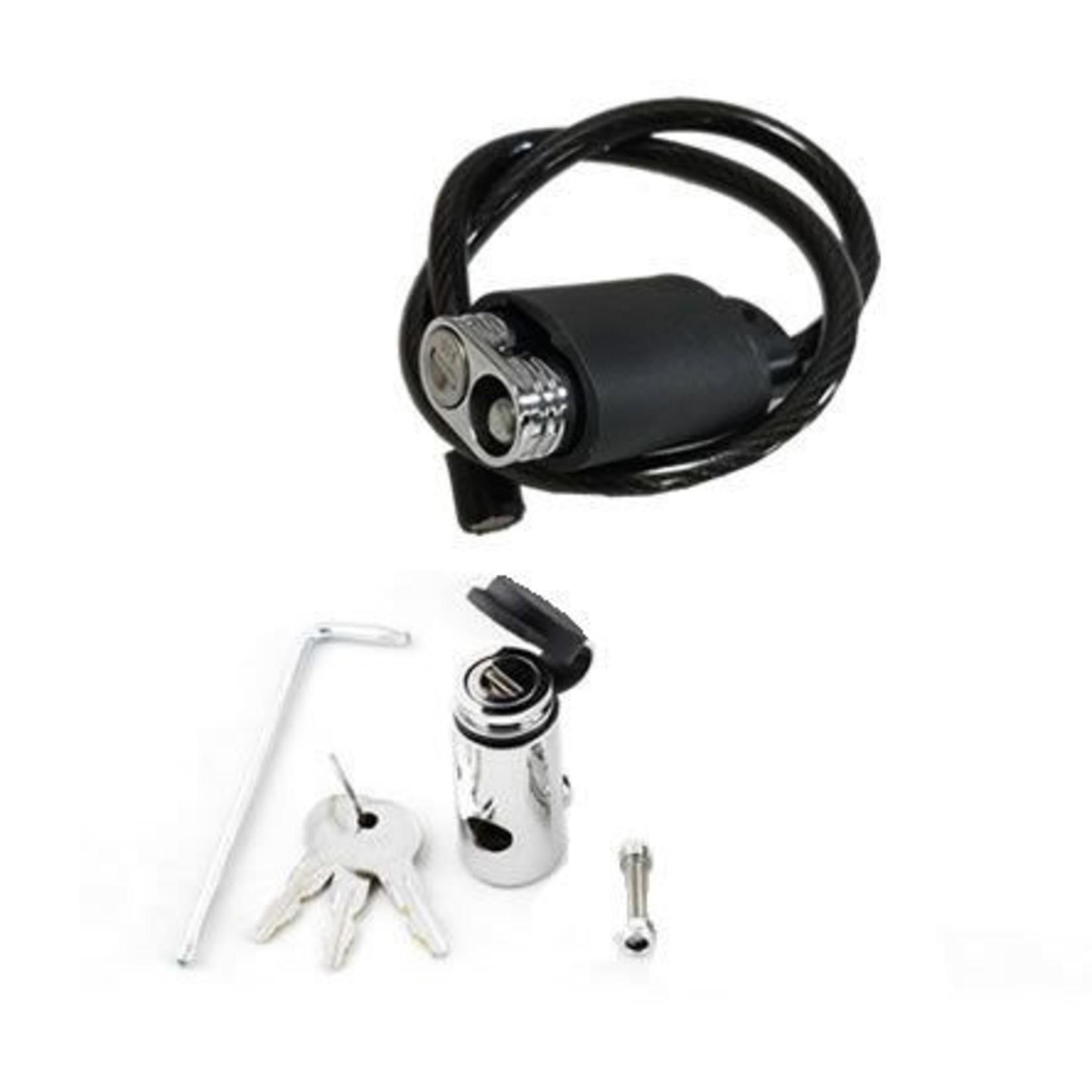 Kuat Kuat Transfer Lock Kit- 3 Bike Lock Kit