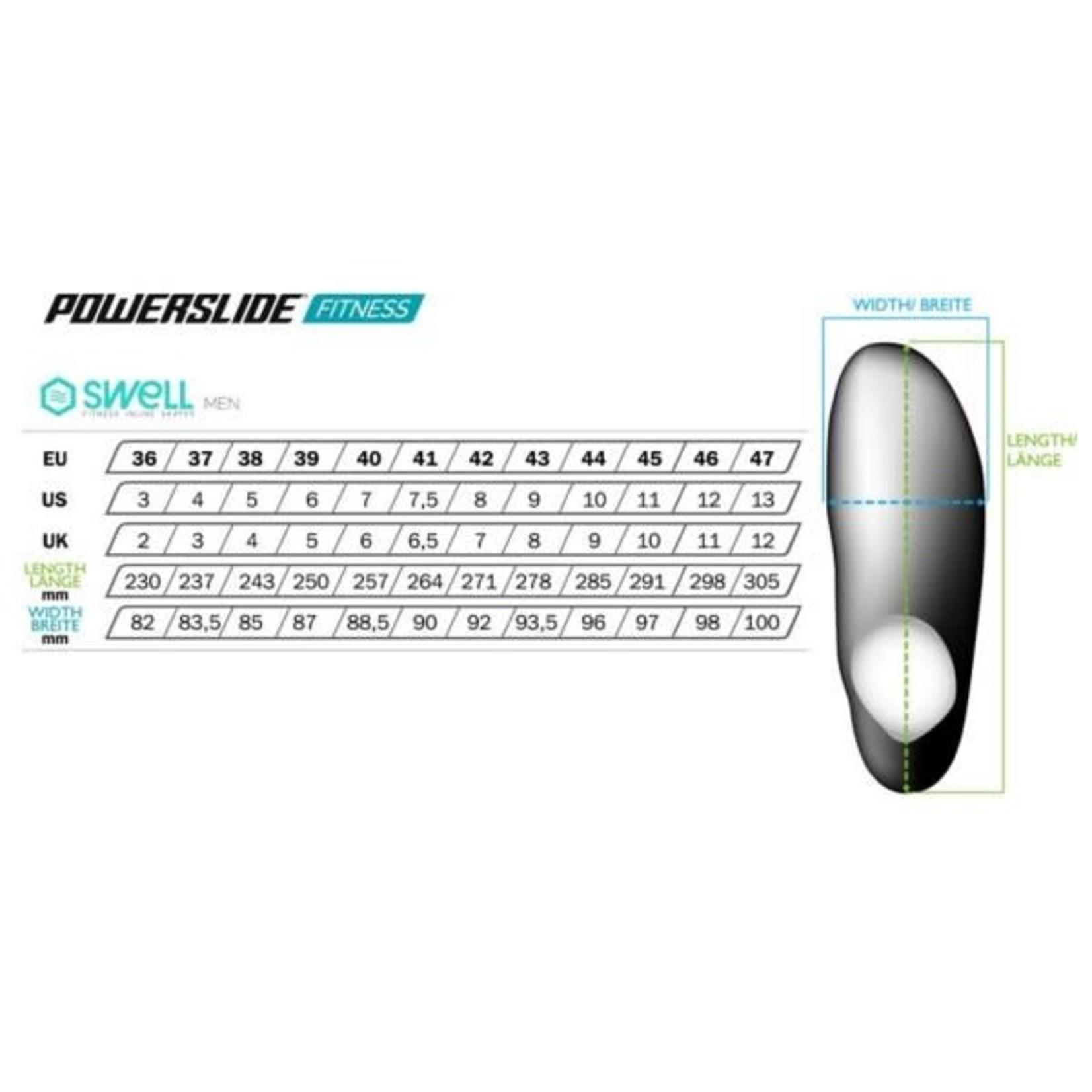 Powerslide Powerslide Swell Lite Black 100