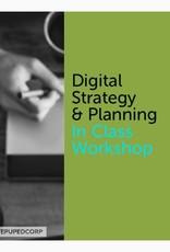 Digital Marketing Strategy & Planning Certificate In Class